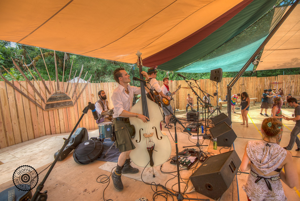 The Senate performing at the Dance Pavilion © Geoffrey Squier Silver, All Rights Reserved.