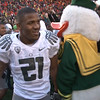 LaMichael James after Civil War win and on the way to the Ducks first  BCS Championship game vs Auburn