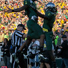 DeAnthony Thomas, formerly of NFL Kansas City Cheifs, celebrating Rose Bowl TD