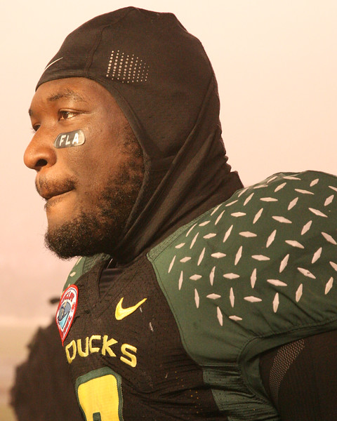 LaGarrette Blount, RB with NFL NE Patriots after Holiday Bowl win