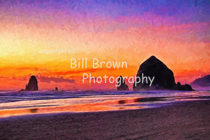 A Rainbow of Color, Cannon Beach