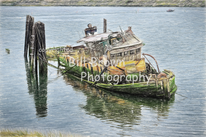 Wreck of the Mary D Hume, Gold Beach