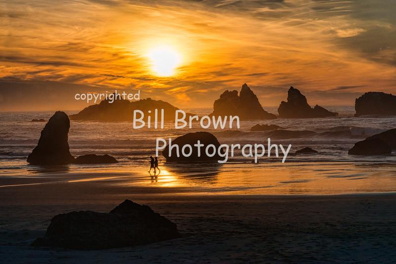 Sunset in Bandon