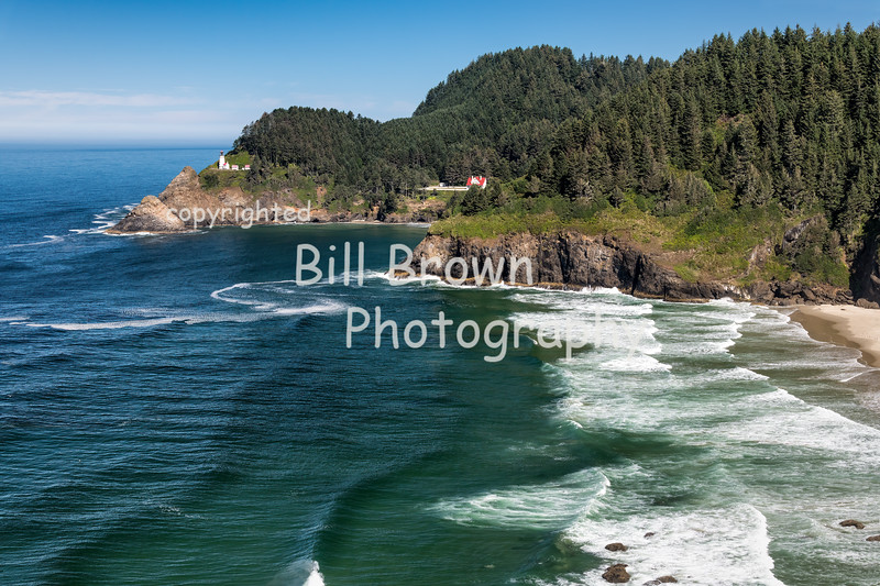 Heceta Head Light and Caretakers House