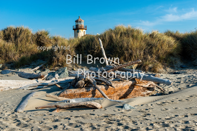 Near Coquille River Light in Bandon