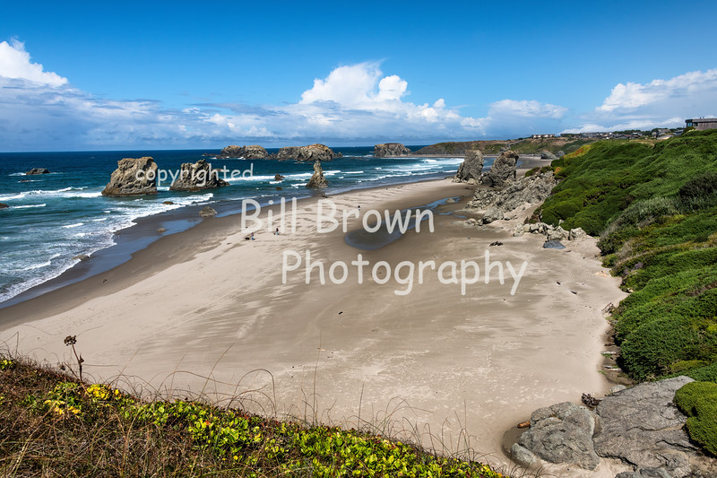 Expansive View of Bandon Beach