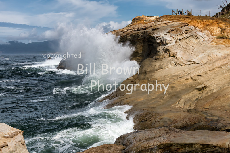 Waves Crashing at Cape Kiwanda