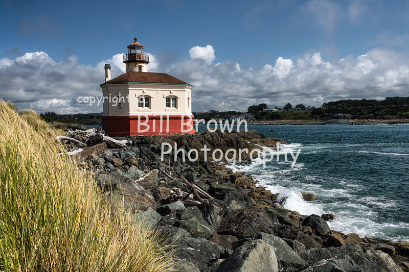 Coquille River Light in Bandon
