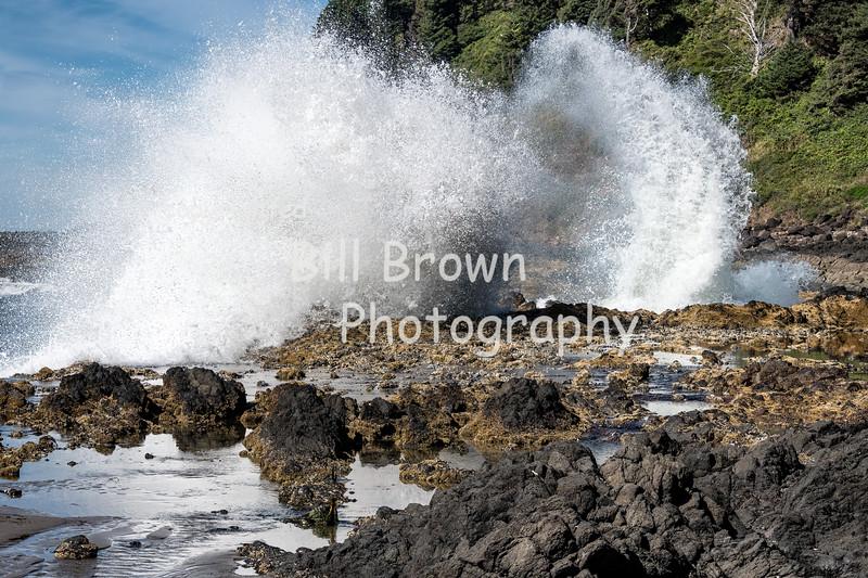 Waves near Devils Churn