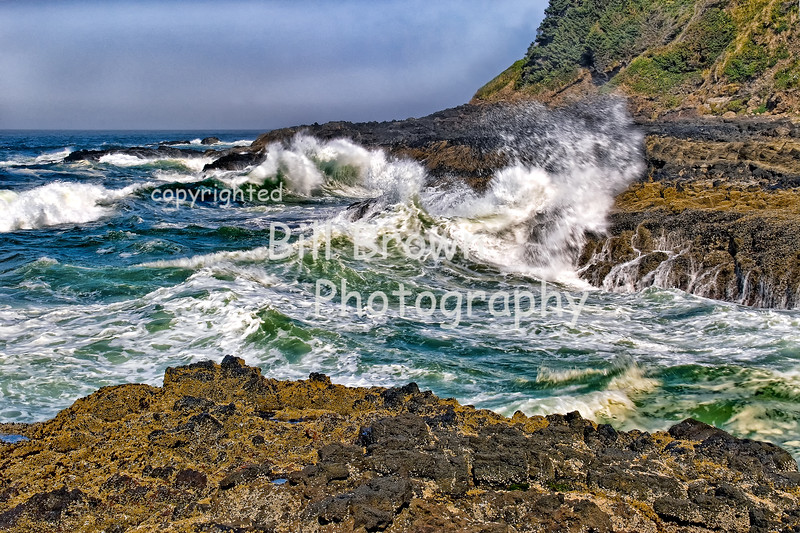 Restless Seas at Entrance to Devil's Churn
