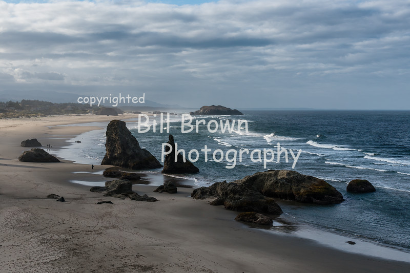 View from Bandon Beach