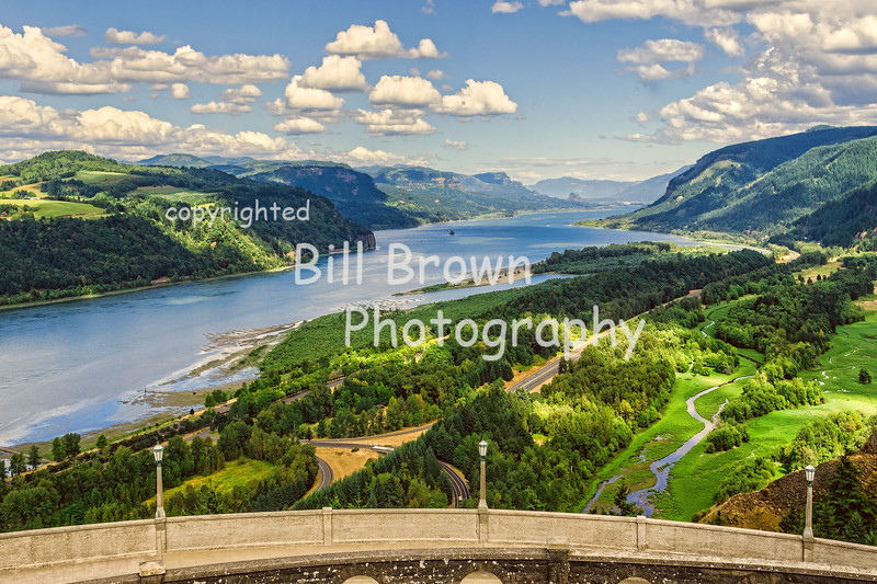 Columbia Gorge from Vista House