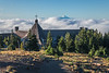 View from Timberline Lodge toward Mt Jefferson