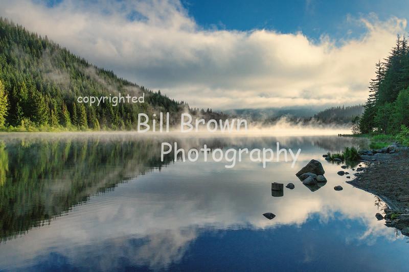 Early Morning at Trillium Lake