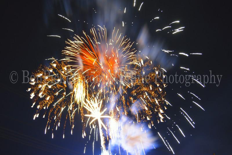 Hermiston Oregon Fireworks Finale
