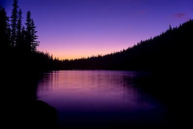 Sunset Descends