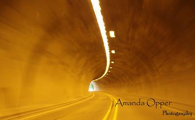 Tunnel through Oregon