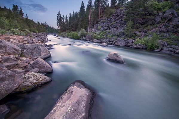 Smooth Rapids of Deschutes River