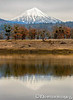 Mt. McLoughlin from Agate lake