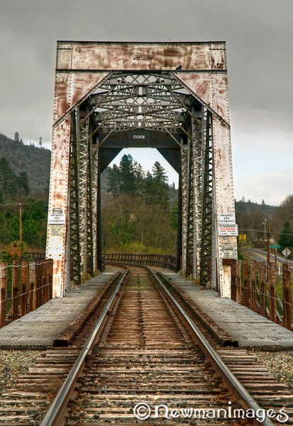 Gold Hill Train Bridge