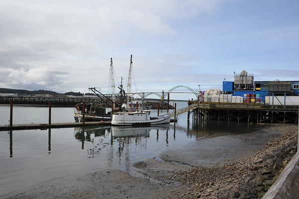 Newport, Oregon Harbor and Bridge