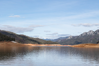 January 25, 2016 Shasta Lake was still very low.