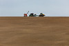 Palouse farming with bulldozer