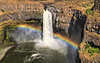 Rainbow over Palouse Falls