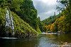 Early Autumn at Mossbrae Falls