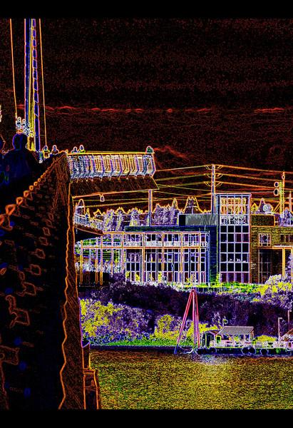All Classical Portland and Portland Opera Building with Tilikum Crossing Bridge