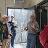 Curator Michael Illig talks to Zoofari 2014 guests about California Condor care and welfare