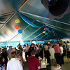 Guests mingle at the VIP reception at Tiger Plaza<br /> Photo Credit: McDermott Studios LLC