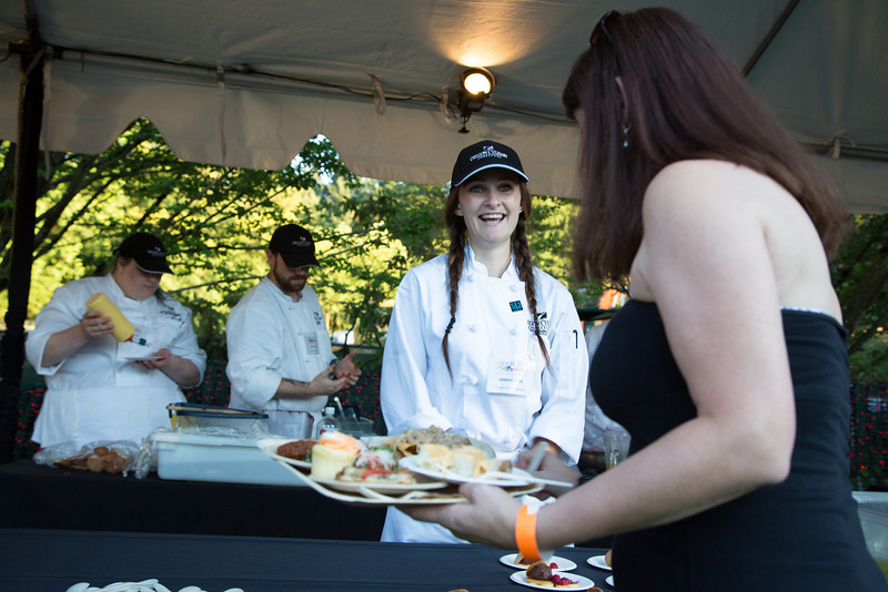 Oregon Culinary Institute students serve up small plates and craft soda at Zoolala 2013<br /> Photo Credit: McDermott Studios LLC