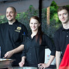 The Old Spaghetti Factory staff serve up tastings to Zoolala guests<br /> Photo Credit: McDermott Studios LLC