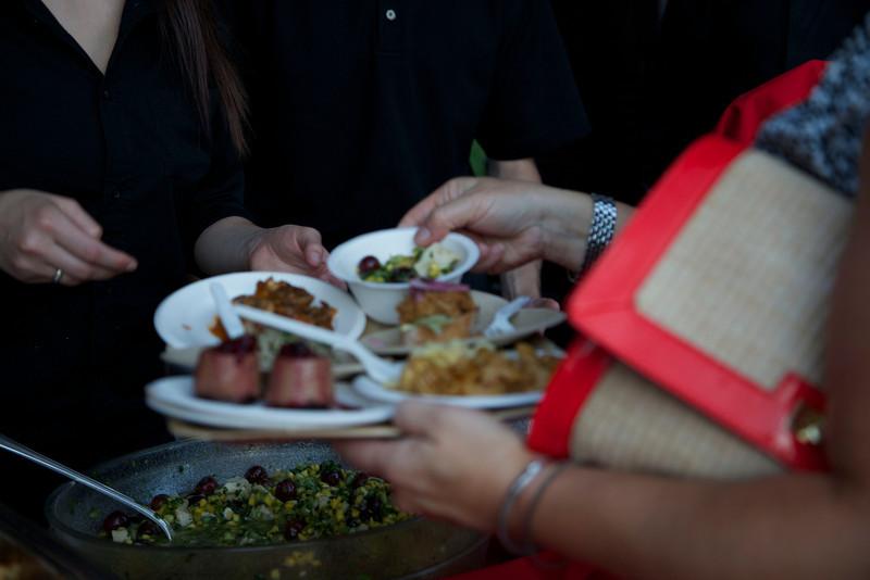 Zoolala guests enjoy over 30 restaurant tastings<br /> Photo Credit: McDermott Studios LLC