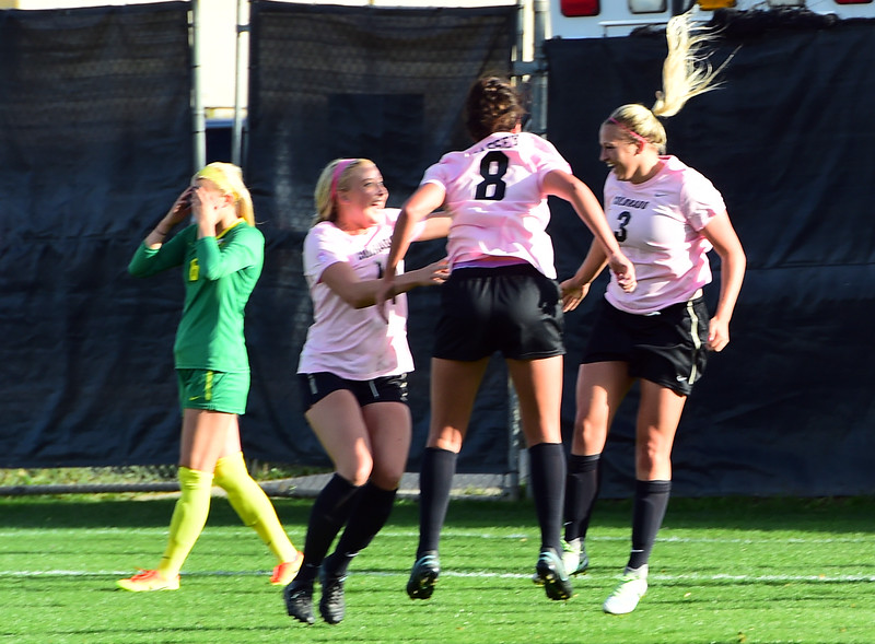 Colorado Oregon NCAA Soccer