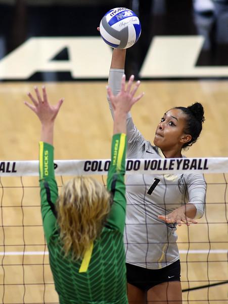 Colorado Oregon NCAA Volleyball