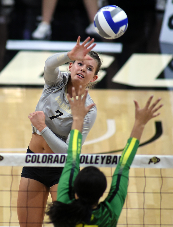 Colorado Oregon NCAA Volleyball