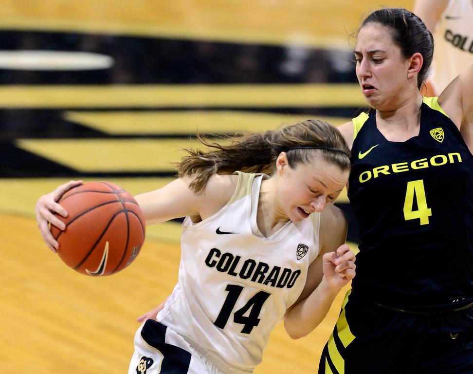 Colorado Oregon NCAA Womens Basketball  CU Oregon148CU Oregon148