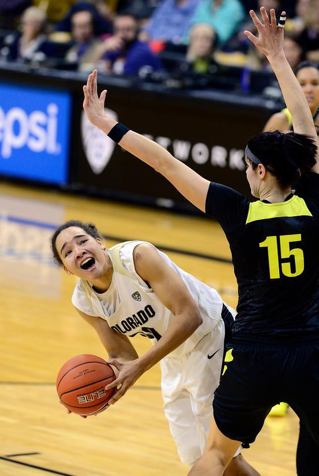 Colorado Oregon NCAA Womens Basketball  CU Oregon302CU Oregon302