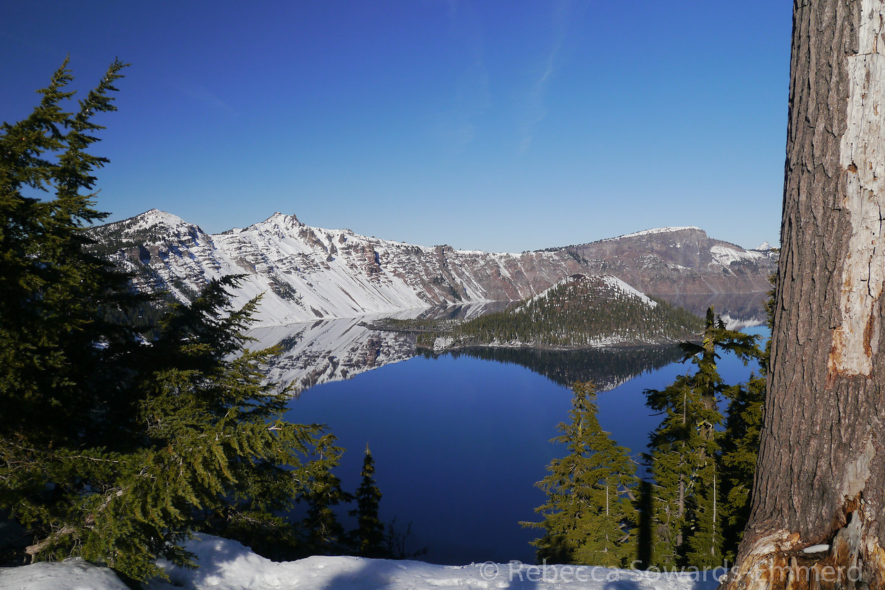 Crater Lake (Wizard Island)