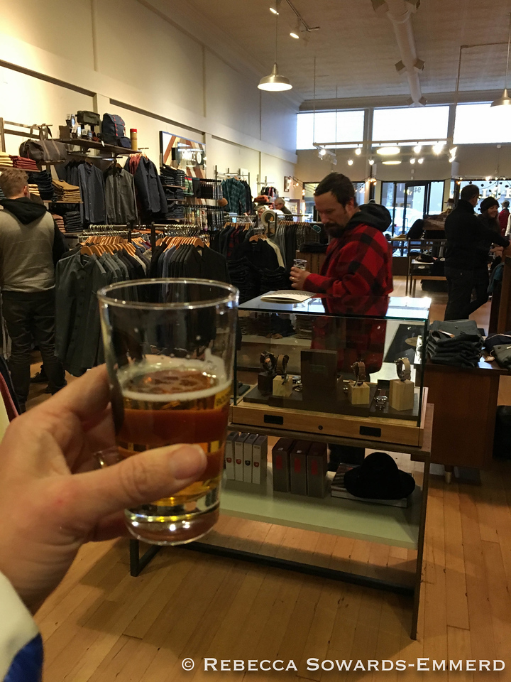 They give you beer when you shop in Bend. That's it, we're moving here.