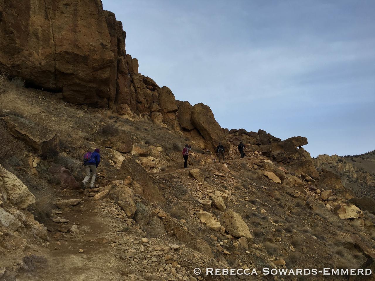 Hiking at Smith Rock