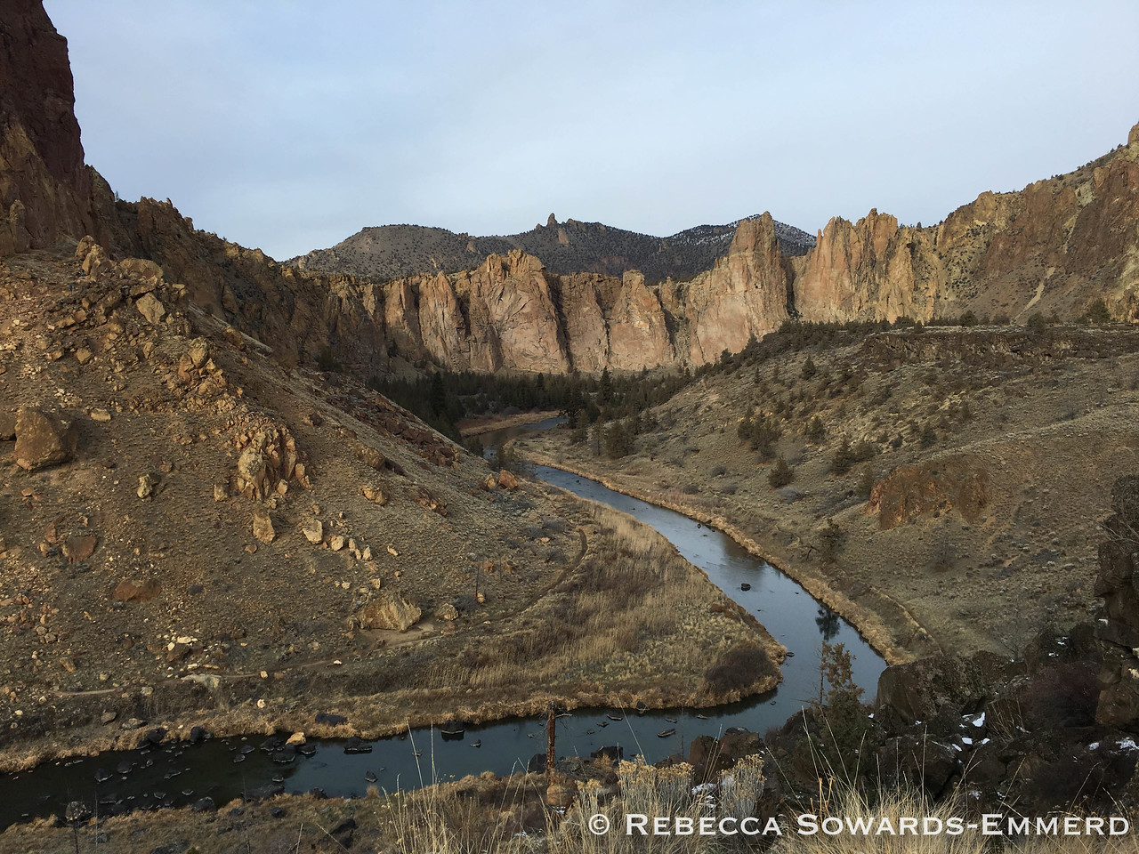 The next day we went hiking at Smith Rock.