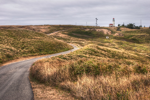 The Road to Cape Blanco Lighthouse