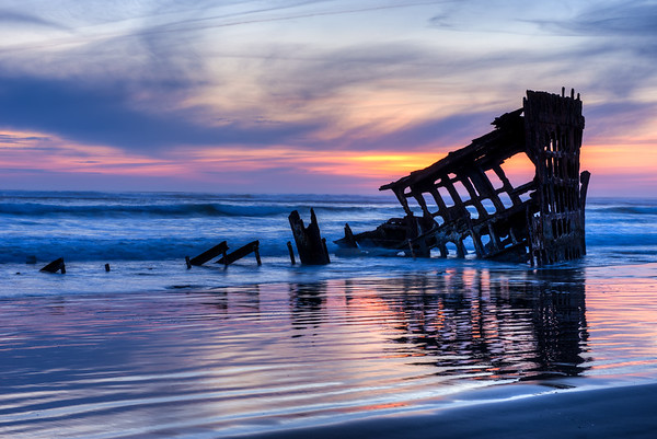 Shipwreck of the Peter Iredale