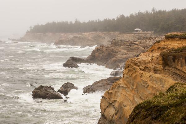 Stormy Oregon Coast