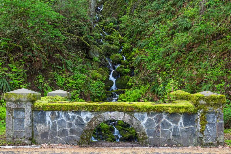 Small Bridge on the Historic Columbia River Highway