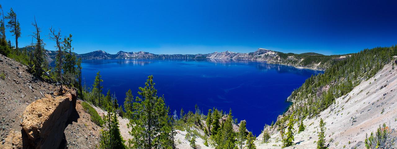 Crater Lake Wineglass