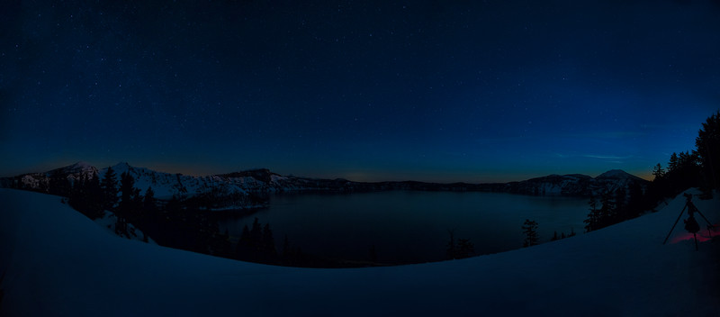 20160326 KateThomasKeown_Crater Lake night